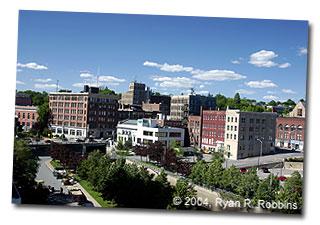 Bangor maine the city